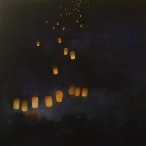 Thép Thavonsouk-Nocturne: Festival of Light I