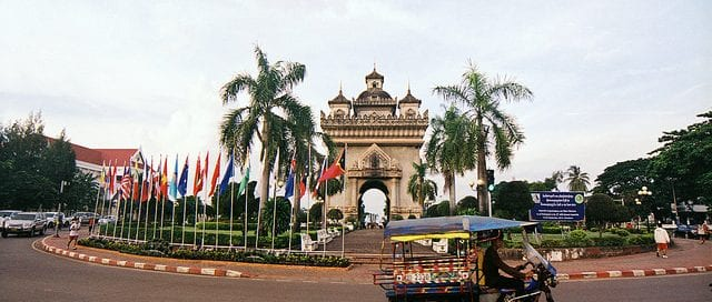 Coming home to Vientiane, Laos