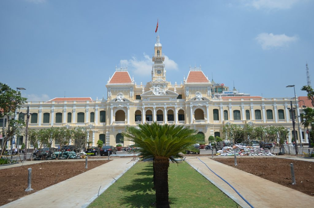 Saigon City Hall 2015