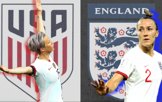 US v England, World Cup 2019
