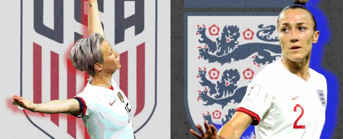 US v England, World Cup 2019