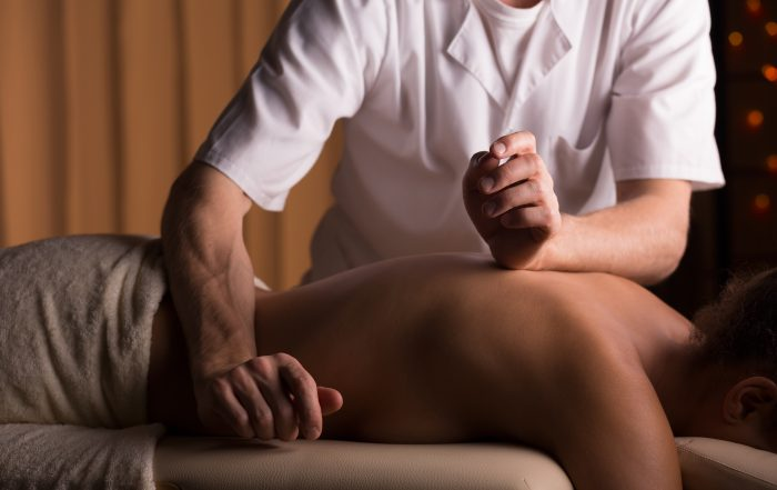 Image of masseur