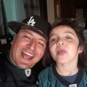 image of father and daughter